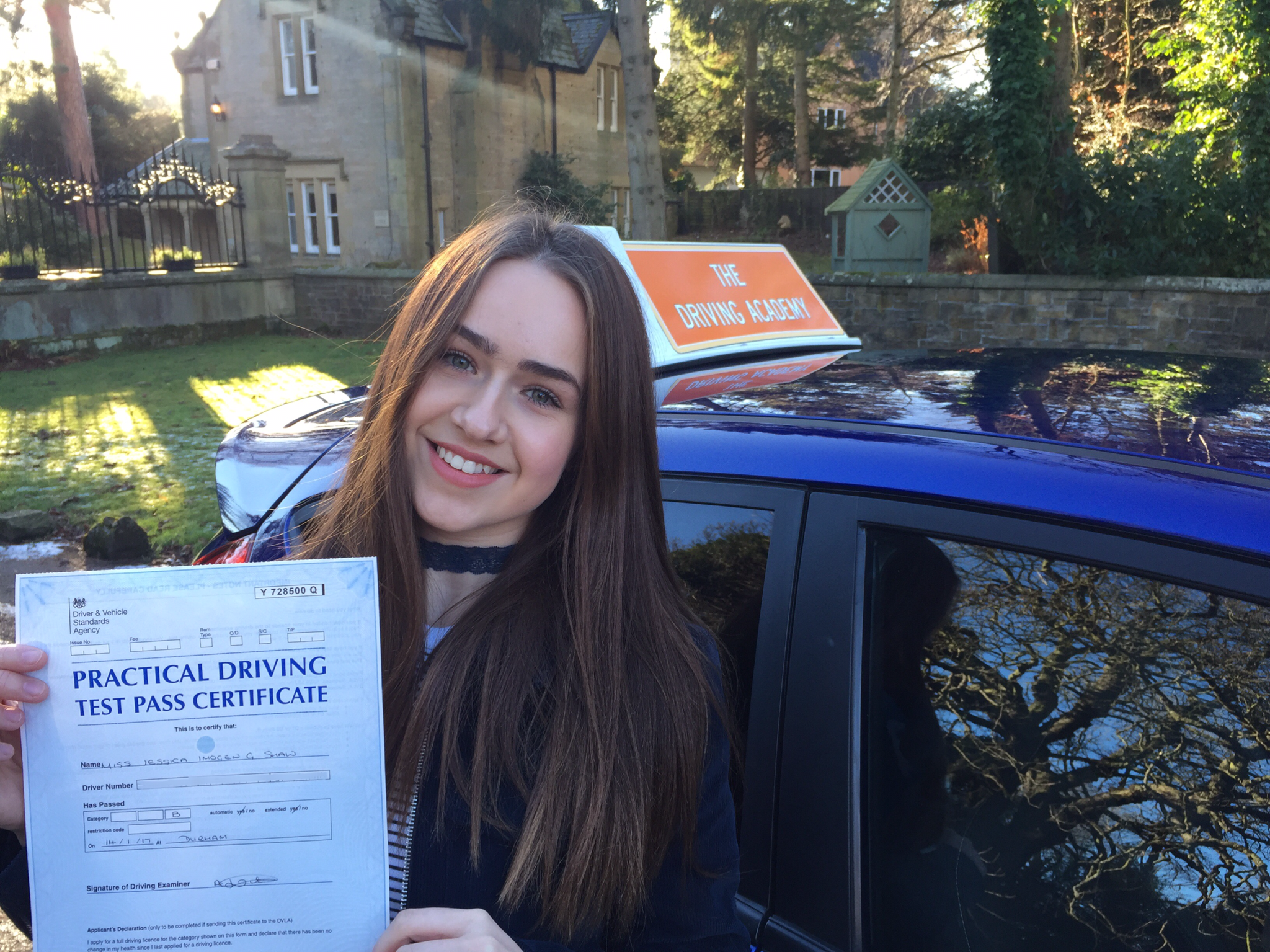 Driving test durham