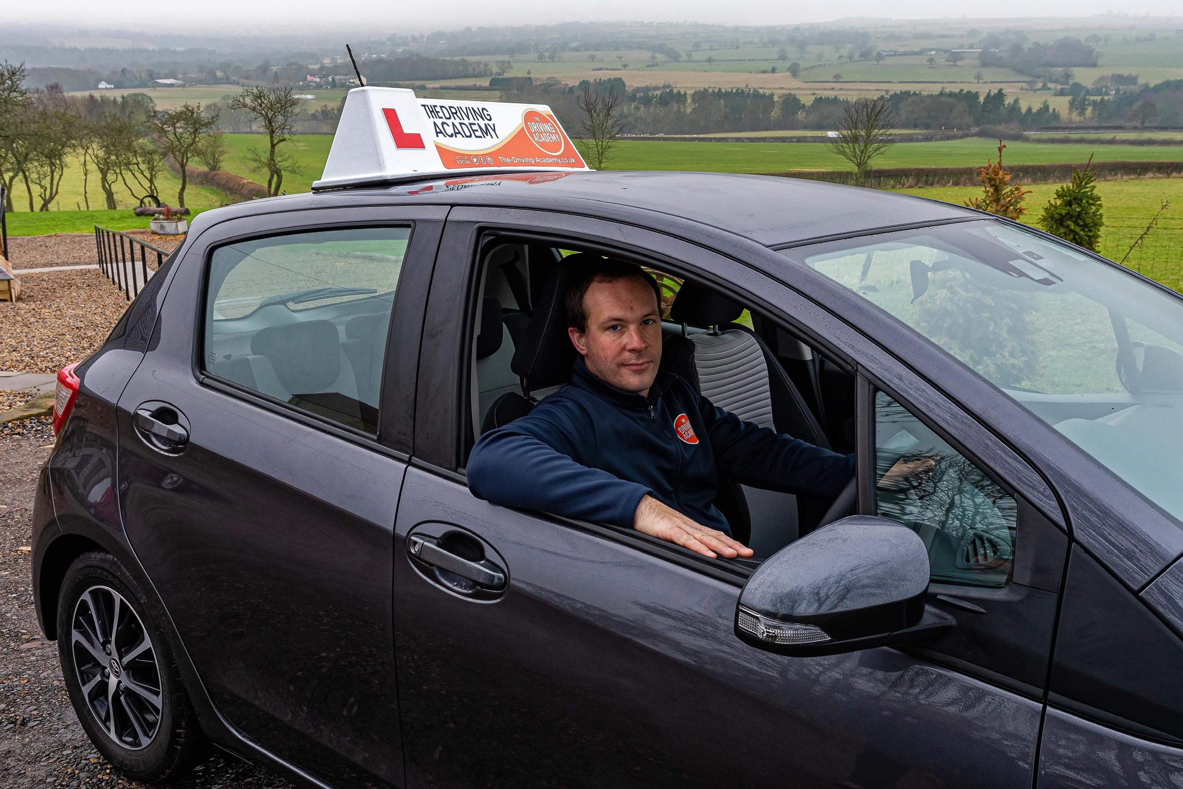 Adam Cruddace Toyota Yaris The-Driving-Academy