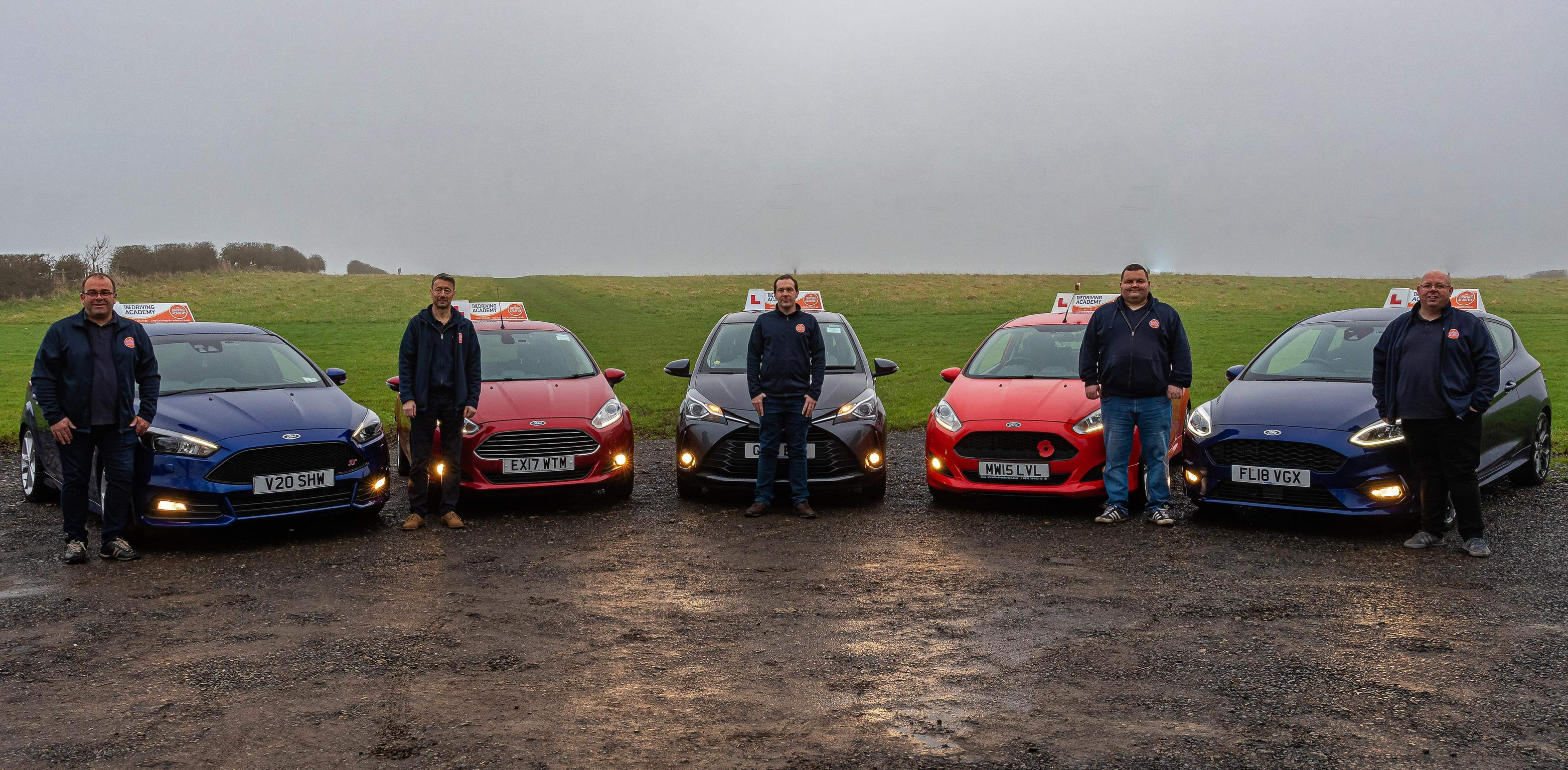 The-Driving-Academy team of instructors